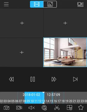 انتقال تصویر دوربین مدار بسته بر روی تبلت اندریود و آی پد